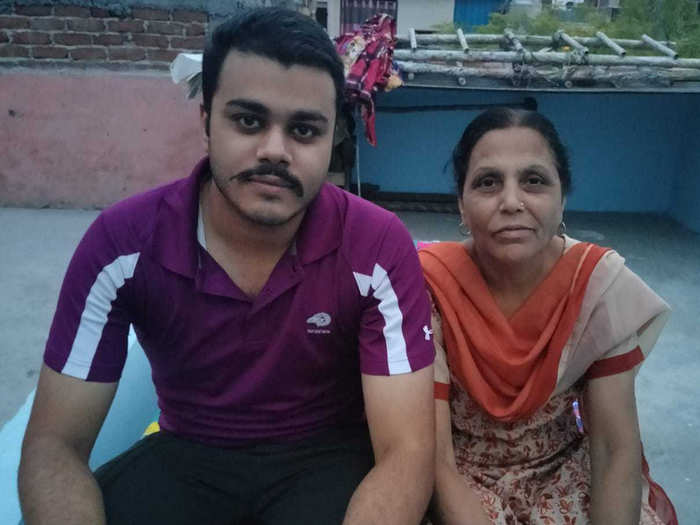 corona live update meet covid warrior mother who took care and saved life of her son