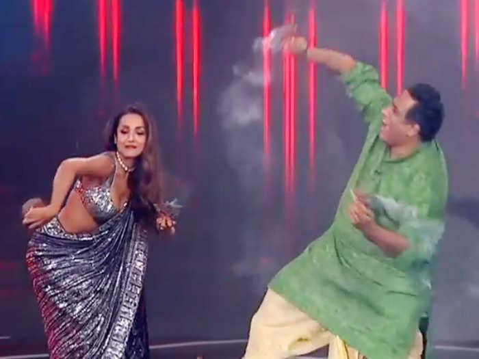malaika dhunachi dance
