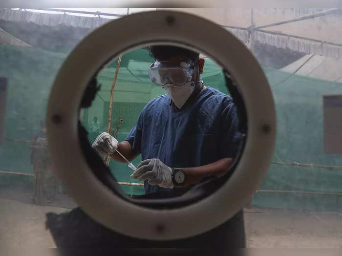 Virus Outbreak India Variants