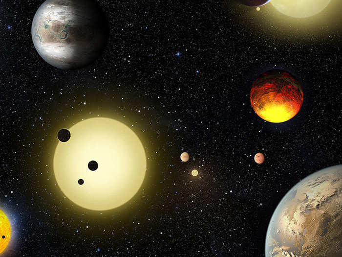 kepler telescope of nasa discovers five binary star systems with one habitable planet each