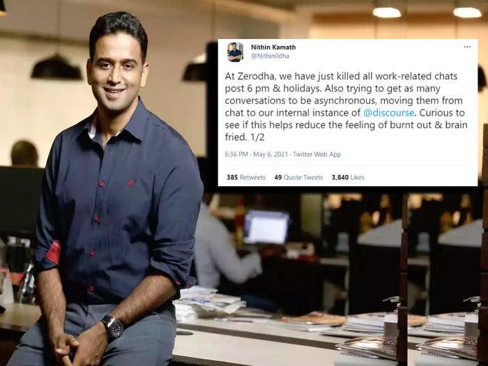 Nithin Kamath CEO of Zerodha