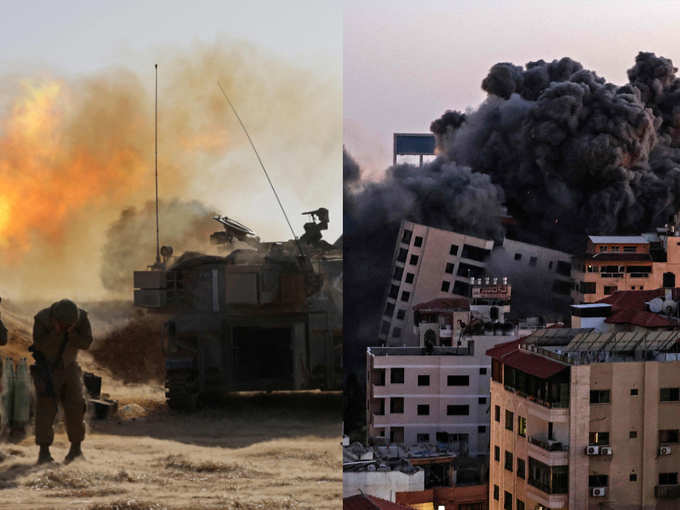 اسرائیل به غزه حمله می کند