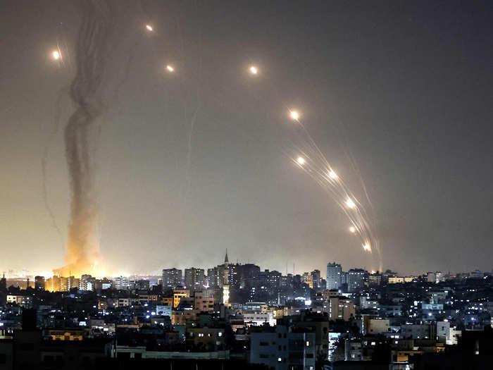 war feared amid israel and palestinian hamas rocket attacks in gaza