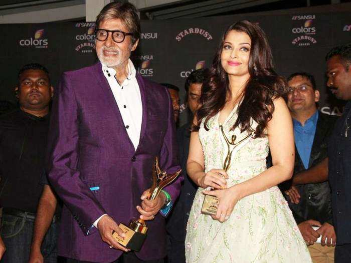 when amitabh bachchan scold aishwarya rai in award function for wrong behavior in marathi