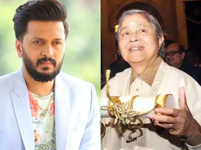 indu jain passes away retesh deshmukh