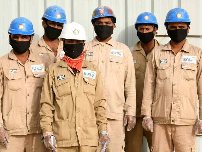 indian workers gulf countries
