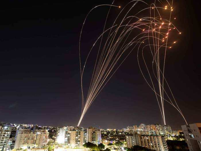 watch iron dome system israel invisible shield protecting from hamas rockets attack