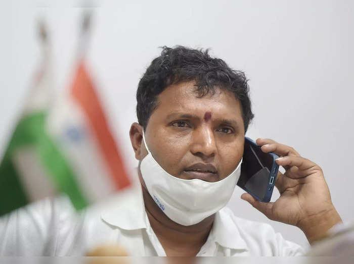 President of the Indian Youth Congress Srinivas BV