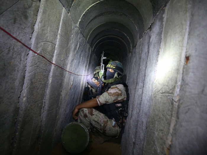 israel traps hamas in its metro underground tunnel network amid violence in gaza