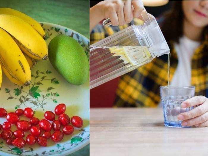 reason behind not drinking water for 30 minutes after eating fruits in marathi