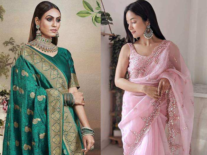Saree On Amazon : प्रीमियम क्वालिटी की खूबसूरत Saree केवल 499 रुपए में खरीदें