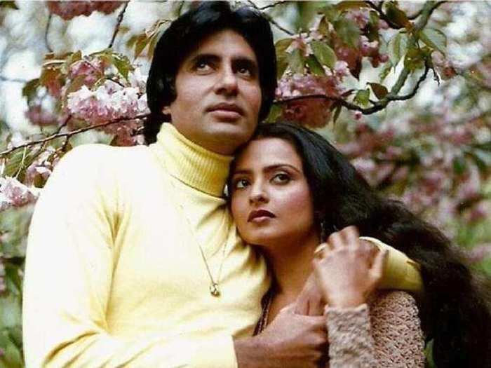 rekha replied on falling in love with amitabh bachchan know why extra marital affairs cant be healthy