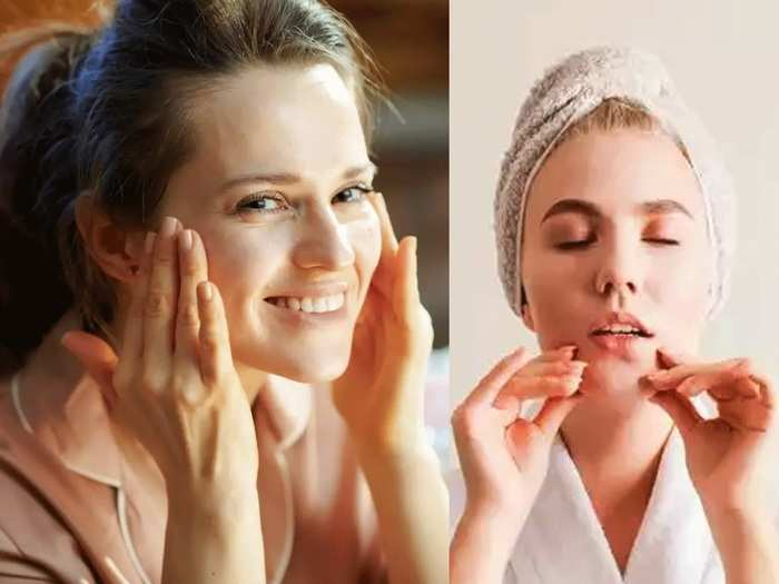 how to reduce face fat and get clear healthy skin by eating these herbs in marathi