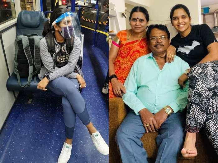 veda krishnamurthy family