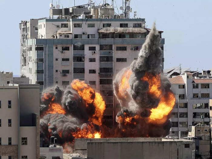 Israel attack media house