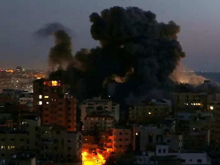 Israel-Airstrike-on-Gaza