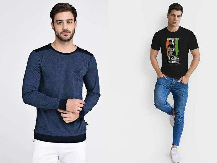 गर्मियों में पहनने के लिए बेहद आरामदायक और स्टाइलिश हैं ये T-Shirt For Men