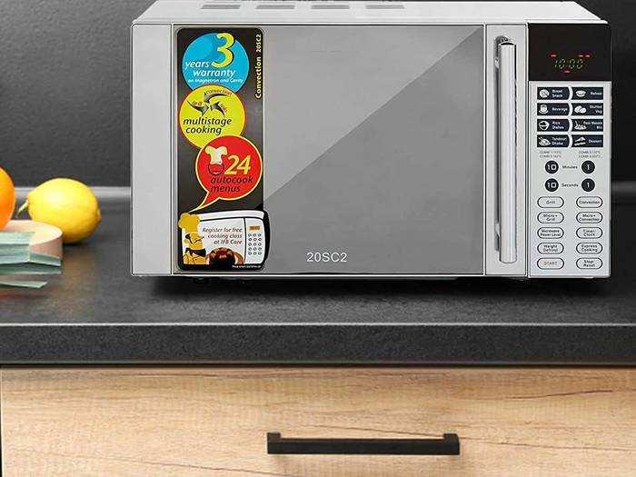 कम समय में कम मेहनत के साथ टेस्टी फूड का आनंद मिले Microwave Oven से, कीमत 8,090 रुपए