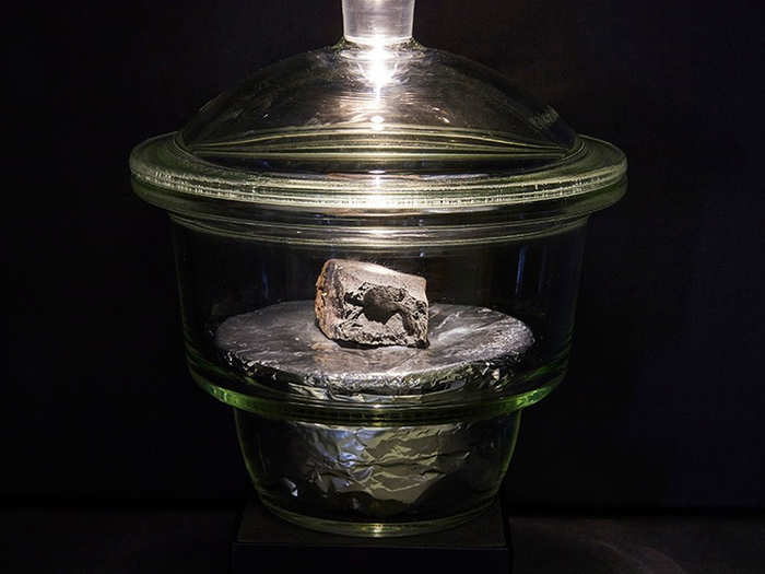 special and valuable meteorite that landed in britain after 30 years put on display