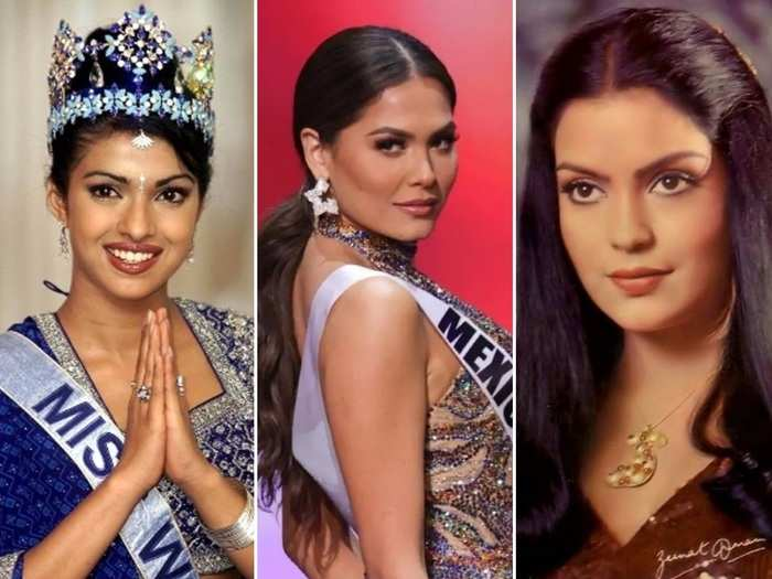 andrea meza crowned miss universe 2020 a list of beauty pageant winners who turned into bollywood superstars