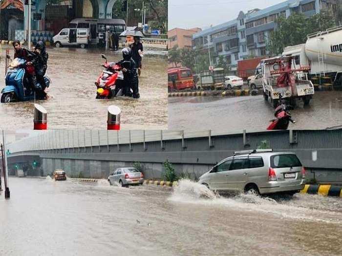 cyclone tauktae winds and rain alert in mumbai many house collapsed