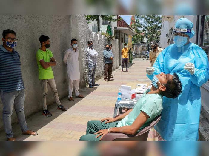 COVID-19 testing in Jammu
