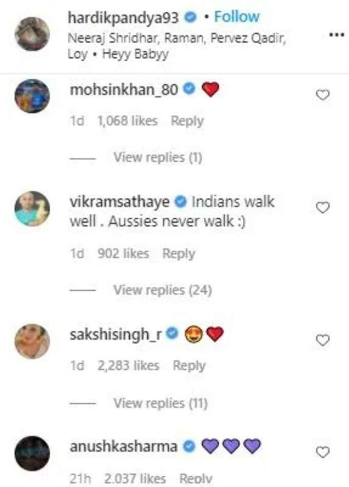 anushka sharma comment