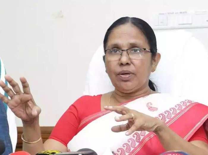 Health minister K K Shailaja