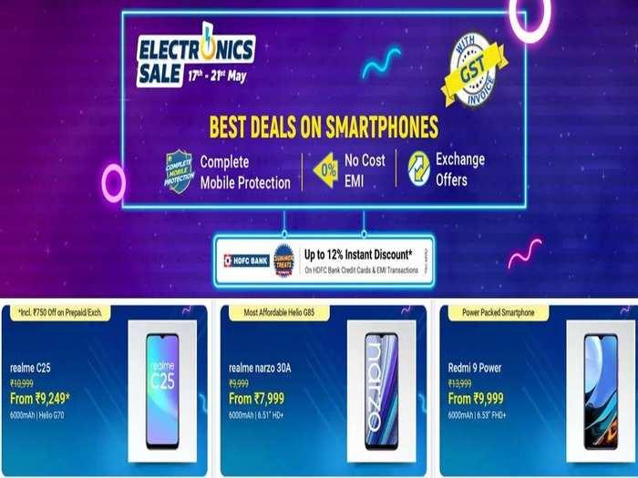 Discount offers on Smartphones Flipkart Electronics Sale 1