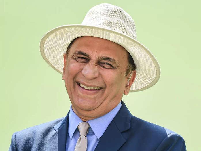 Sunil Gavaskar at the Narendra Modi Stadium