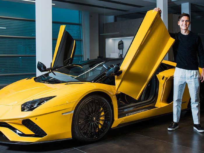Paulo Dybala buys Lamborghini Aventador S Roadster