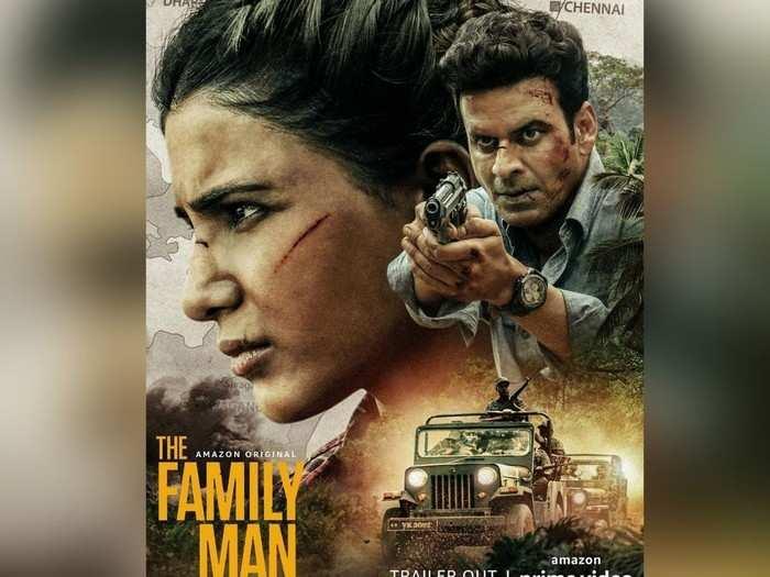 समंथाचा जीवघेणा प्लॅन आणि वैवाहीक आयुष्यामध्ये अडकलाय मनोज बाजपेयी, पाहा The Family Man 2 Trailer
