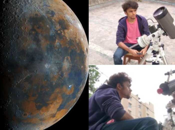 16 years old prathamesh jaju of pune captured clearest picture of moon
