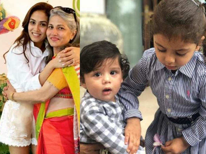 meera rajput get advice from mother and mother in law about parenting in marathi
