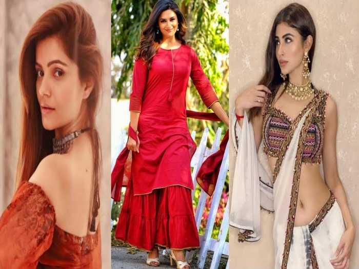 tv actresses divyanka tripathi rubina dilaik best summer looks which make you feel comfortable