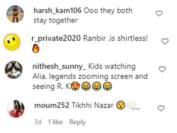 Comments of fans