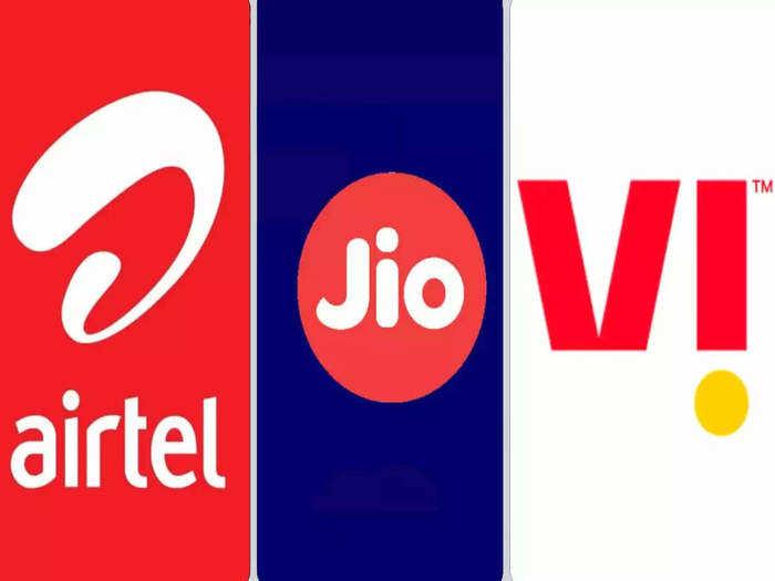 Jio, Airtel, Vodafone Idea