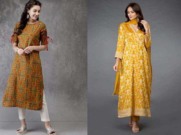 Womens Fashion : स्टाइलिश दिखने के लिए खरीदें बेस्ट फैब्रिक और डिजाइन वाले ये Salwar Kurti
