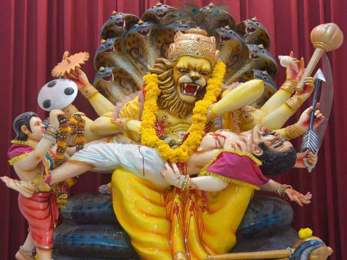 श्रीनृसिंह जयंती २०२१ : एका क्रूर दैत्याचा अंत