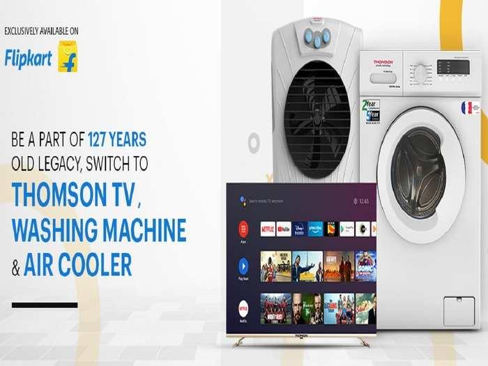 Thomson Smart Tv and Home Appliance Flipkart sale