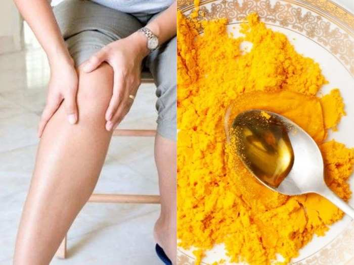 cure joint or knee pain without surgery with home remedy turmeric curd and jaggery