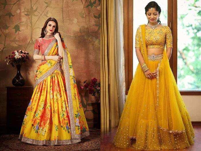 Lehenga Choli : शादी के फंक्शन और हल्दी के लिए पर्फेक्ट हैं ये Yellow Lehenga Choli, सिर्फ 2,299 रुपए से शुरू