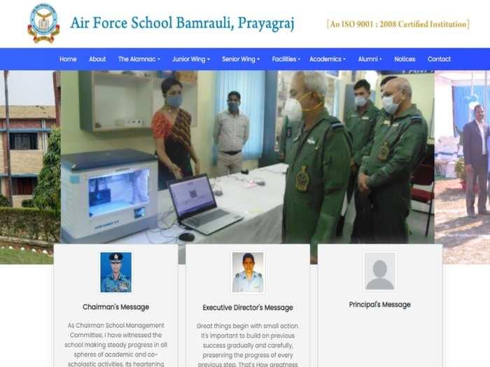 Air force school teacher Recruitment 2021