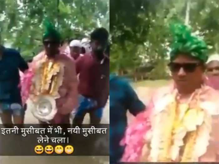 groom funny video goes viral