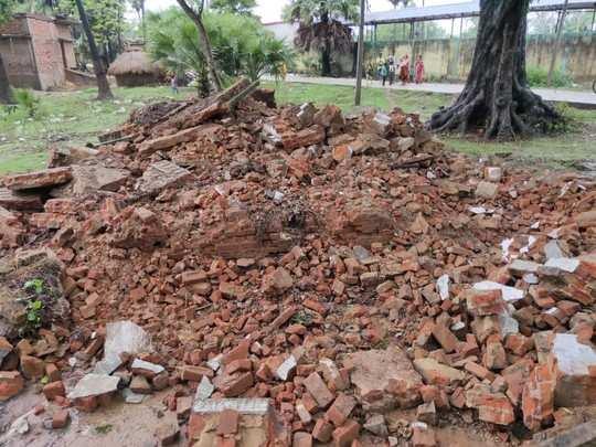 Patna News: नौबतपुर में मकान का छज्जा गिरा, मलबे में दबकर युवक की मौत