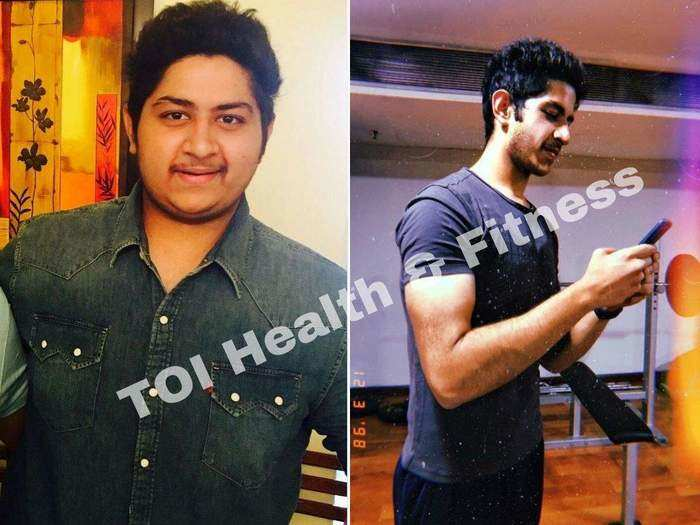 by including only these 2 foods in a diet the 20 year old guy lost 52 kg inspiring weight loss story in marathi