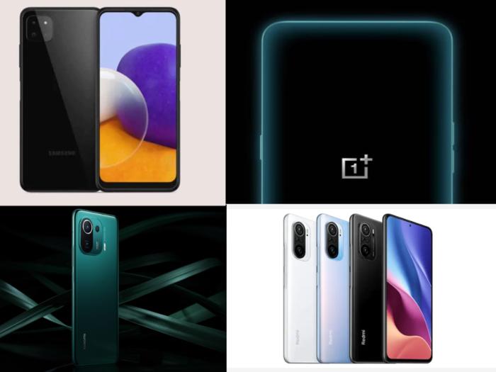 upcoming 5g smartphone in june includes oneplus nord ce 5g xiaomi redmi k40 5g samsung galaxy a22 5g mi 11 pro 5g