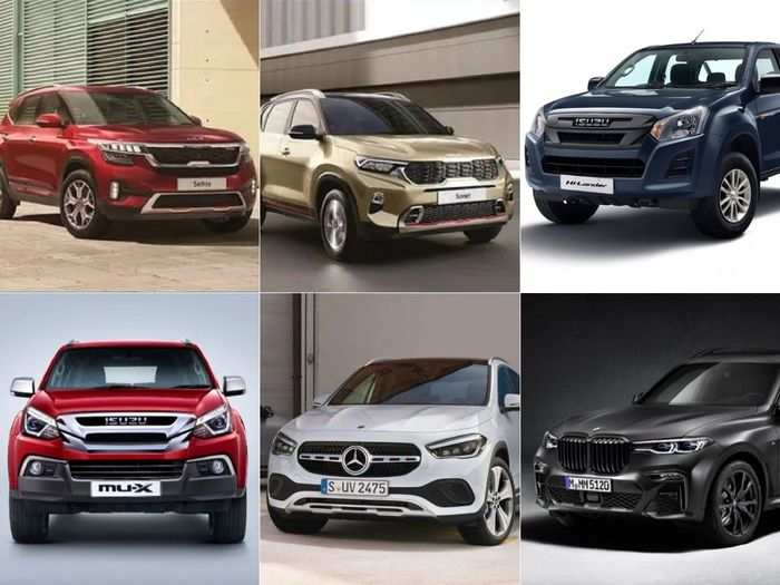 2021 kia sonet to 2021 kia seltos to isuzu d-max v-cross bs6 to isuzu mu-x bs6 to bmw x7 m50d dark shadow to mercedes-benz gla to amg gla 35 here are six latest cars that launched in may 2021