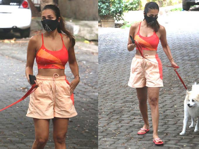 मलाइका अरोड़ा फिर नजर आईं ऐसे लुक में कि पलट-पलटकर देखने का करेगा मन