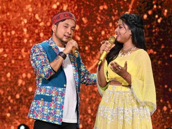 Indian Idol 12- युझर्सच्या मते अरुणितामुळे पनवदीपवर झाला अन्याय, शोवर उभे राहिले प्रश्न